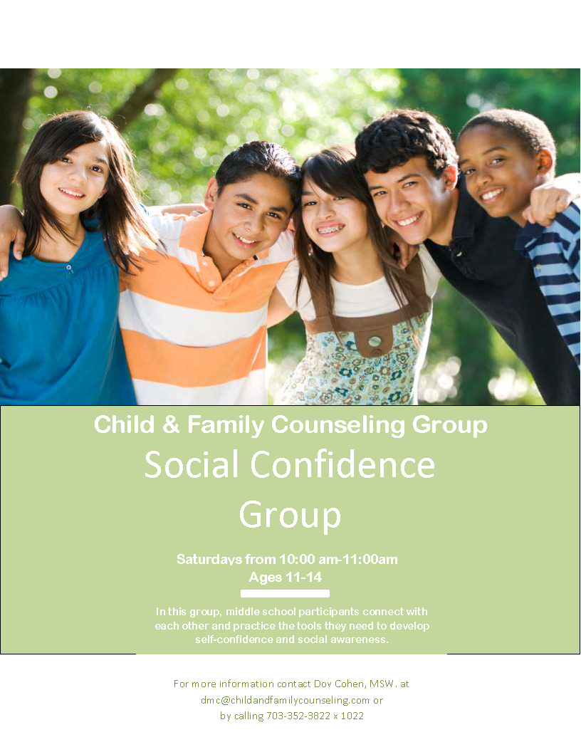 social confidence group