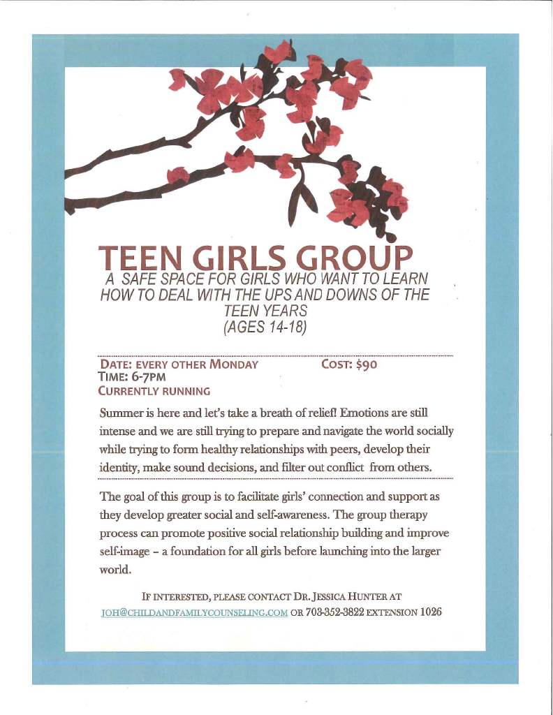 teen girls group